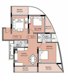1371 sqft, 2 bhk Apartment in Klassik Benchmark Hulimavu, Bangalore at Rs. 98.0000 Lacs