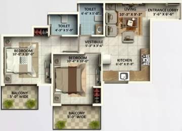 800 sqft, 2 bhk Apartment in GLS Arawali Homes Sector 5 Sohna, Gurgaon at Rs. 17.5000 Lacs
