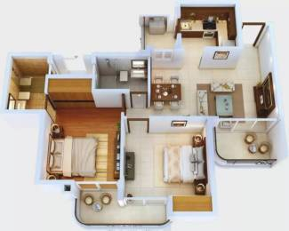 982 sqft, 2 bhk Apartment in CRC Sublimis Sector 1 Noida Extension, Greater Noida at Rs. 29.9000 Lacs