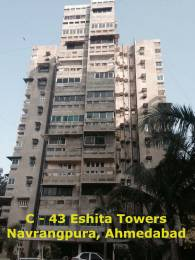 900 sqft, 2 bhk Apartment in Builder Eshita Towers Navrangpura, Ahmedabad at Rs. 69.0000 Lacs