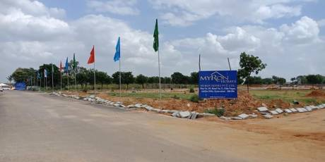 1056 sqft, Plot in Builder Project Tukkuguda Airport View Point Road, Hyderabad at Rs. 44.0000 Lacs