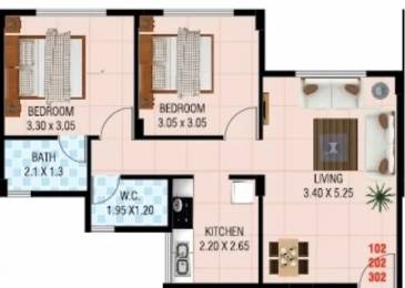 785 sqft, 2 bhk Apartment in Vaastu Alps Kewale, Mumbai at Rs. 4000