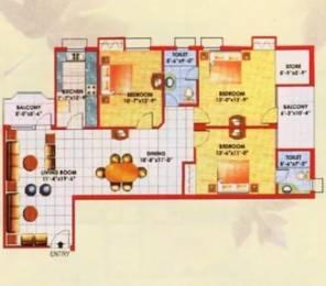 1777 sqft, 3 bhk Apartment in Jaipuria Sunrise Greens Apartment Ahinsa Khand 1, Ghaziabad at Rs. 75.0000 Lacs