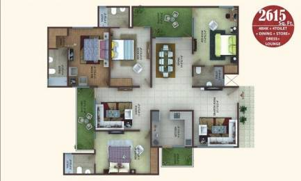 2615 sqft, 4 bhk Apartment in MKS Infratech La Royale Shakti Khand, Ghaziabad at Rs. 1.4500 Cr
