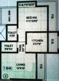 695 sqft, 1 bhk Apartment in PNK Winstone Mira Road East, Mumbai at Rs. 58.0000 Lacs
