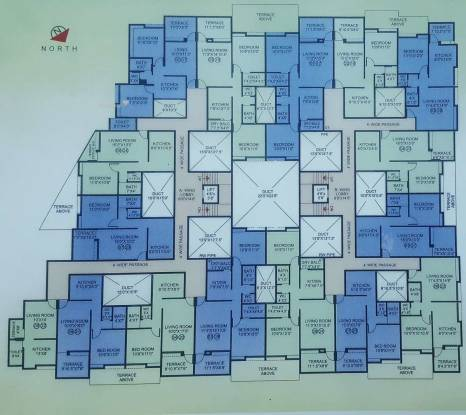 983 sqft, 2 bhk Apartment in Shraddha Madhav Nilay Dhayari, Pune at Rs. 42.0000 Lacs