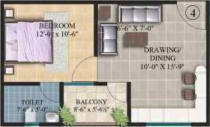 555 sqft, 1 bhk Apartment in Arihant Legacy Sitapura, Jaipur at Rs. 12.8500 Lacs