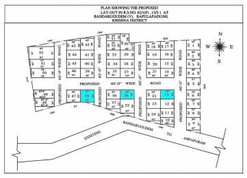 900 sqft, Plot in Builder kavya developers Gannavaram, Vijayawada at Rs. 4.5000 Lacs
