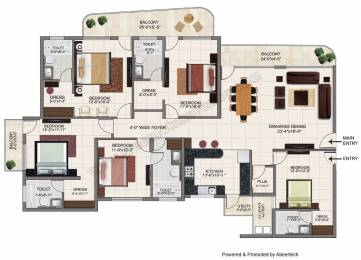 2975 sqft, 5 bhk Apartment in Builder green lotus avenue Ambala Highway, Chandigarh at Rs. 1.0700 Cr