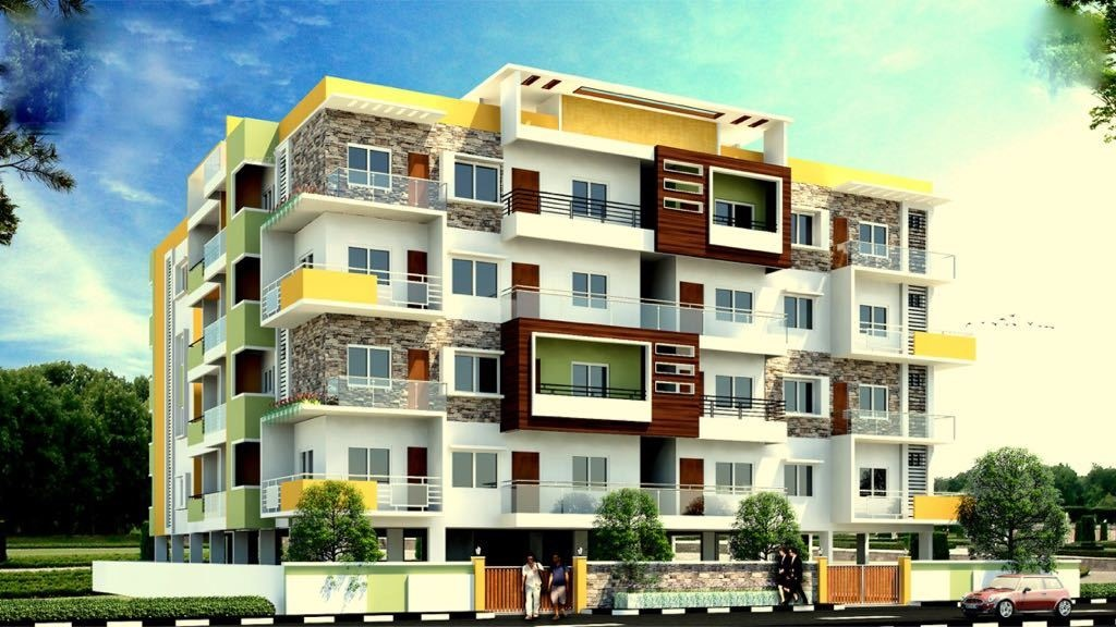 1150 Sqft, 2 Bhk Apartment In Builder Project Nagarbhavi, Bangalore At Rs.  43.7000