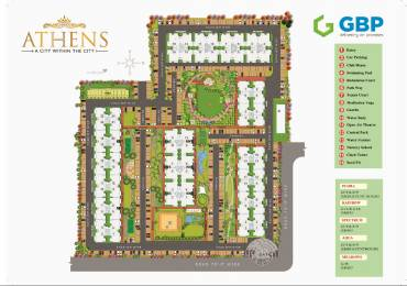 1149 sqft, 2 bhk Apartment in Builder ATHENS Road to Airport, Chandigarh at Rs. 42.9100 Lacs