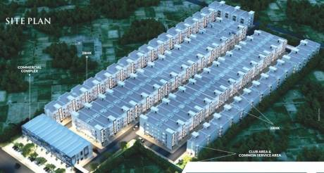 1180 sqft, 2 bhk BuilderFloor in MP Metro Towers Features For A Richer Life Dhakoli, Zirakpur at Rs. 30.9000 Lacs