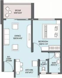 612 sqft, 1 bhk Apartment in Kolte Patil Life Republic Hinjewadi, Pune at Rs. 38.0000 Lacs