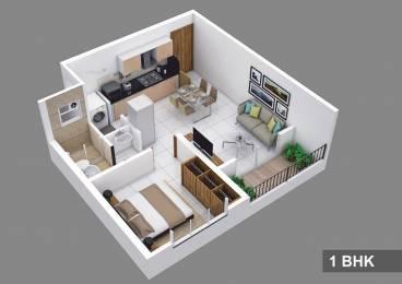 589 sqft, 1 bhk Apartment in Kolte Patil Life Republic Hinjewadi, Pune at Rs. 13000