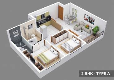 1580 sqft, 3 bhk Apartment in Kolte Patil Life Republic Hinjewadi, Pune at Rs. 18000