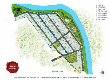 1200 sqft, Plot in Preeti Green Valley Metagalli, Mysore at Rs. 19.2000 Lacs
