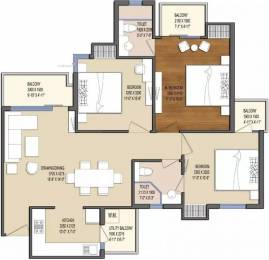 1395 sqft, 3 bhk Apartment in Oasis My Homes UPSIDC Surajpur Site, Greater Noida at Rs. 7500