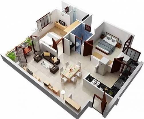 1020 sqft, 2 bhk Apartment in Shriram Sameeksha Jalahalli, Bangalore at Rs. 40.0000 Lacs