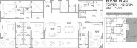 5075 sqft, 4 bhk Apartment in Godrej Platinum Alipore, Kolkata at Rs. 8.0000 Cr