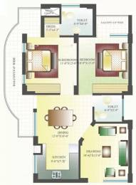 1285 sqft, 2 bhk Apartment in Emerging Heights III Sector 116 Mohali, Mohali at Rs. 40.0000 Lacs