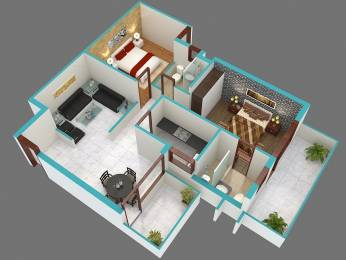850 sqft, 2 bhk Apartment in Shree Green Court Sector 90, Gurgaon at Rs. 24.1000 Lacs