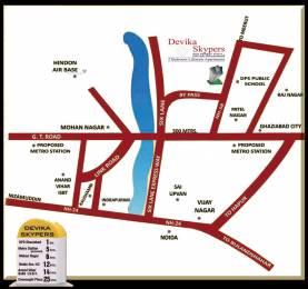 792 sqft, 2 bhk Apartment in Devika Skypers Raj Nagar Extension, Ghaziabad at Rs. 20.5920 Lacs