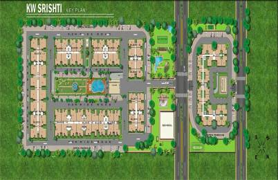 740 sqft, 1 bhk Apartment in K World Estates Builders KW Srishti Raj Nagar Extension, Ghaziabad at Rs. 22.0000 Lacs