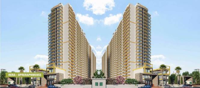 1010 sqft, 2 bhk Apartment in Windsor Premium Tower Raj Nagar Extension, Ghaziabad at Rs. 30.3000 Lacs