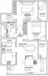 1256 sqft, 2 bhk Apartment in Godrej Avenues Yelahanka, Bangalore at Rs. 54.2400 Lacs