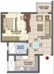 644 sqft, 1 bhk Apartment in Prestige Song Of The South Begur, Bangalore at Rs. 33.5900 Lacs