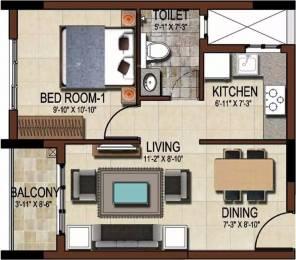598 sqft, 1 bhk Apartment in Salarpuria Sattva East Crest Budigere Cross, Bangalore at Rs. 37.0000 Lacs