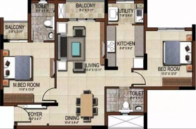 1157 sqft, 2 bhk Apartment in Salarpuria Sattva East Crest Budigere Cross, Bangalore at Rs. 72.0000 Lacs
