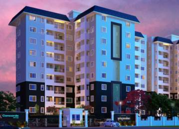 1077 sqft, 2 bhk Apartment in Concorde Spring Meadows Jalahalli, Bangalore at Rs. 45.0000 Lacs