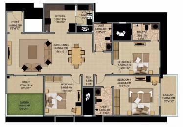 2313 sqft, 3 bhk Apartment in Sobha Indraprastha Rajaji Nagar, Bangalore at Rs. 3.9400 Cr