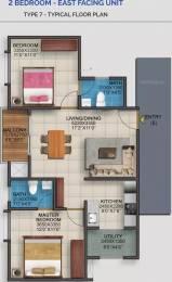 900 sqft, 2 bhk Apartment in Vaishnavi Serene Yelahanka, Bangalore at Rs. 44.8000 Lacs