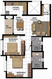 1178 sqft, 2 bhk Apartment in Prestige Bagamane Temple Bells Rajarajeshwari Nagar, Bangalore at Rs. 70.0000 Lacs