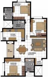 1611 sqft, 3 bhk Apartment in Prestige Bagamane Temple Bells Rajarajeshwari Nagar, Bangalore at Rs. 96.0000 Lacs
