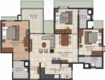 1689 sqft, 3 bhk Apartment in Brigade Serene At Brigade Utopia Varthur, Bangalore at Rs. 1.0100 Cr