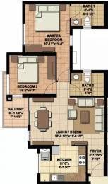 982 sqft, 2 bhk Apartment in Akshaya Today Thaiyur, Chennai at Rs. 45.0000 Lacs