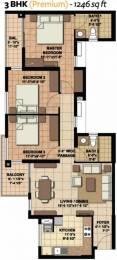 1246 sqft, 3 bhk Apartment in Akshaya Today Thaiyur, Chennai at Rs. 57.0000 Lacs