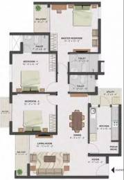 1539 sqft, 3 bhk Apartment in TATA Santorini Mevalurkuppam, Chennai at Rs. 76.6000 Lacs