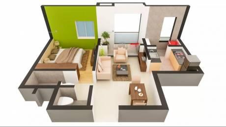 603 sqft, 1 bhk Apartment in TATA New Haven Ribbon Walk Moolacheri, Chennai at Rs. 34.0000 Lacs