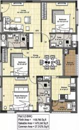 1475 sqft, 3 bhk Apartment in DRA Tuxedo Velachery, Chennai at Rs. 1.1500 Cr