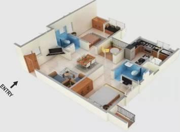 1122 sqft, 2 bhk Apartment in Alliance Galleria Residences Pallavaram, Chennai at Rs. 72.4500 Lacs