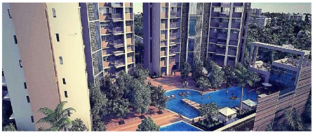 1020 sqft, 2 bhk Apartment in Shapoorji Pallonji Alpine Kandivali East, Mumbai at Rs. 1.3000 Cr