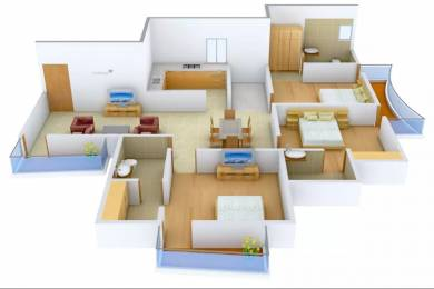 1450 sqft, 3 bhk Apartment in Delhi Delhi Gate Chhawla, Delhi at Rs. 55.8200 Lacs