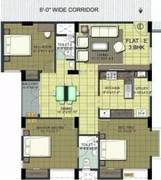 1504 sqft, 3 bhk Apartment in Ramaniyam Isha Thoraipakkam OMR, Chennai at Rs. 90.0000 Lacs
