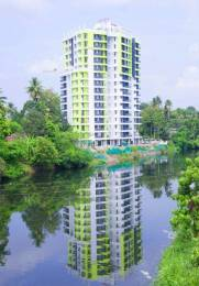 1505 sqft, 3 bhk Apartment in Builder Jewel Waterlilly Nagampadam, Kottayam at Rs. 73.0000 Lacs