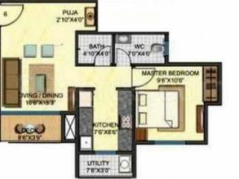639 sqft, 1 bhk Apartment in Builder Project Dombivali East, Mumbai at Rs. 9000