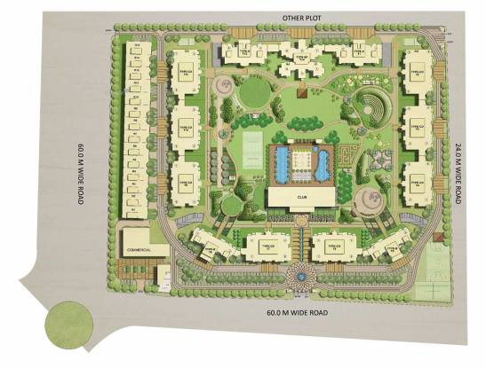1540 sqft, 3 bhk Apartment in ATS Dolce Zeta, Greater Noida at Rs. 65.0000 Lacs